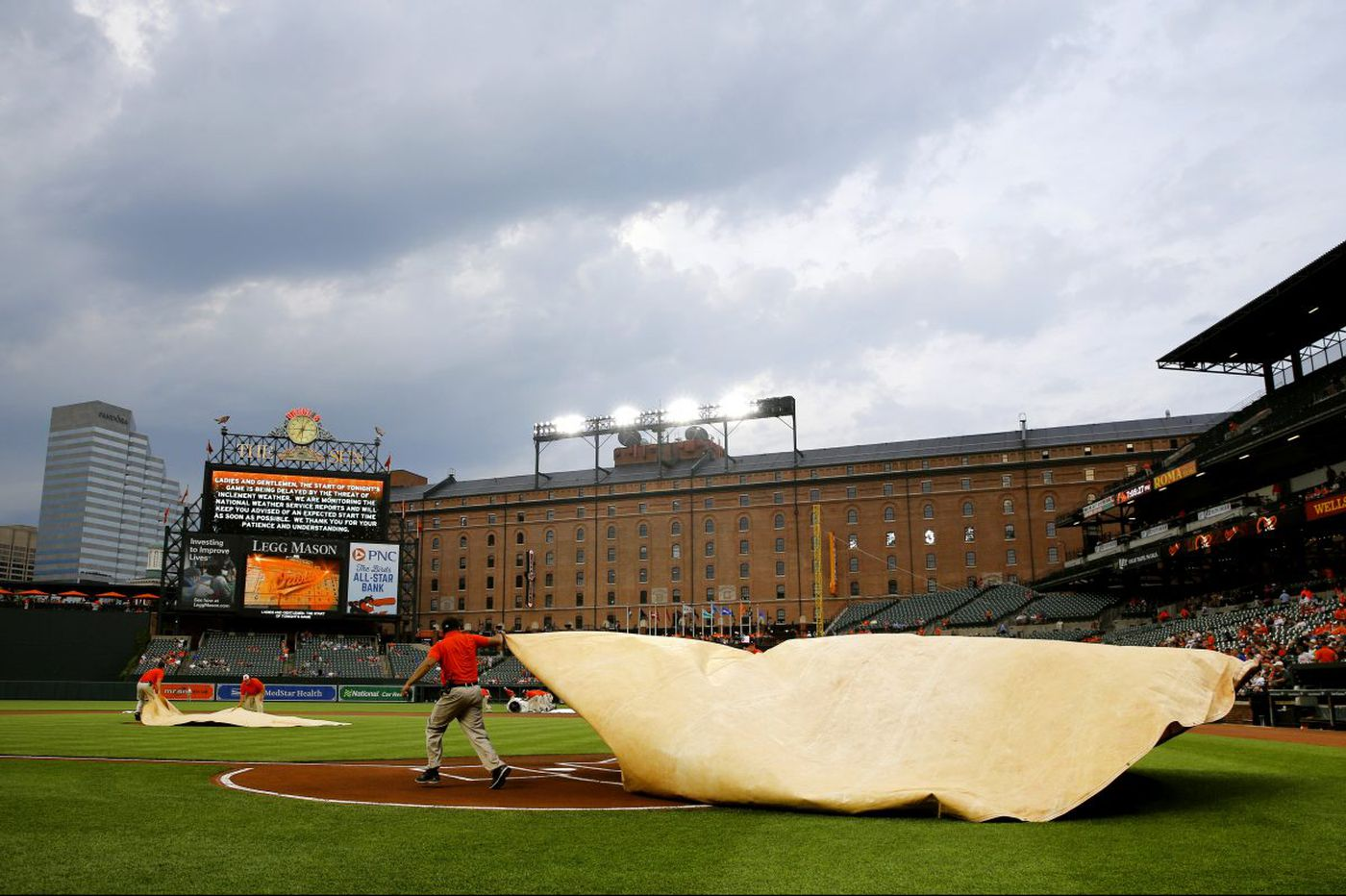 Phillies to play at 12:05 today, if rain stops | Extra Innings