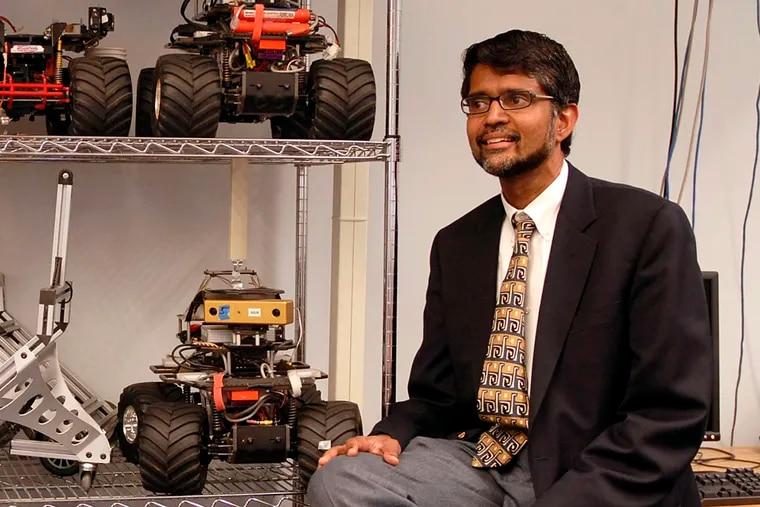 Vijay Kumar, University of Pennsylvania Engineering School dean.