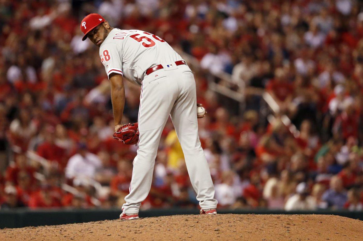 Phillies beat Cardinals as Vince Velasquez, Seranthony Dominguez deliver solid showings