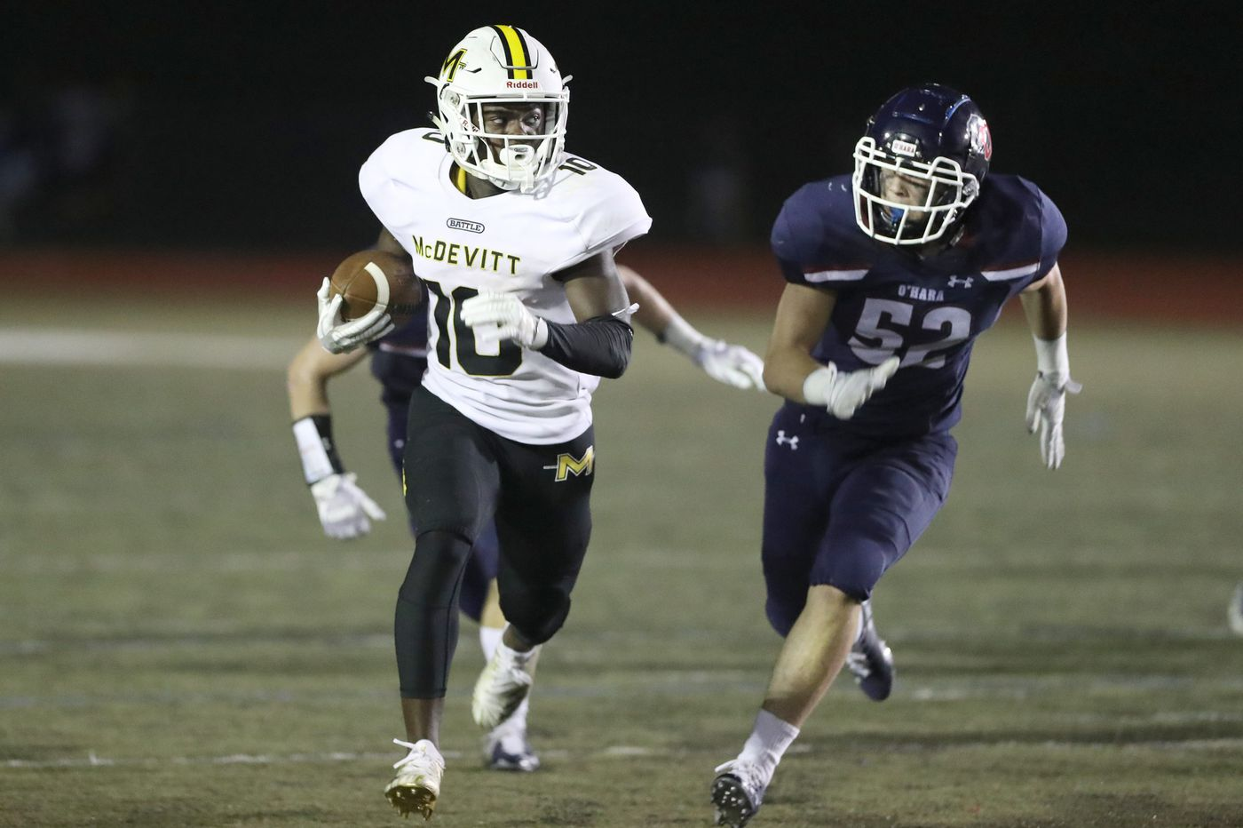 Bishop McDevitt's Jon-Luke Peaker is top rusher | Southeastern Pa. Football Leaders