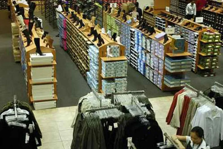 Police say gangs of youths up to 100 strong roved The Gallery and Center City yesterday. (file photo of mall interior).