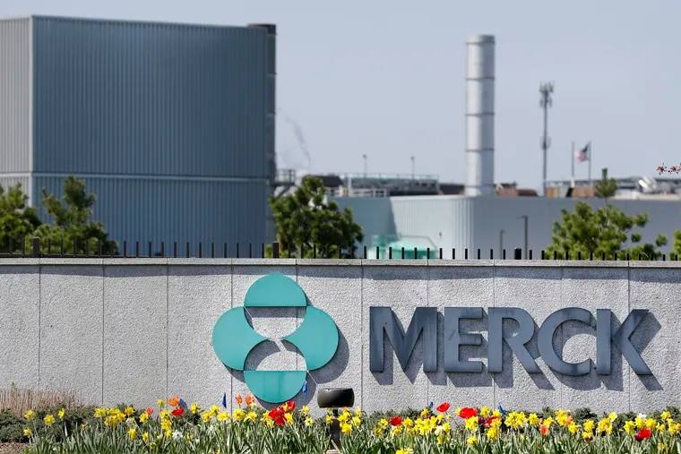 FILE - Merck corporate headquarters in Kenilworth, N.J. The pharma giant said it was laying off 500 sales and marketing workers based at its North Wales and Lansdale campuses effective Jan. 3, 2020. (AP Photo/Seth Wenig, File)