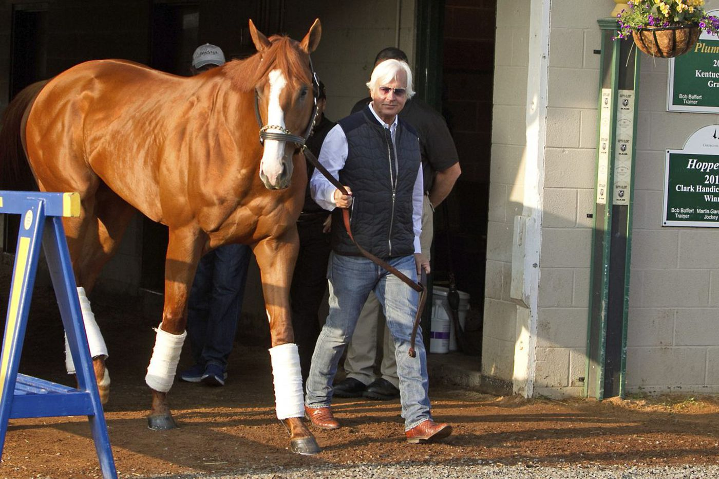 Are Justify and Bob Baffert on the right track to horse racing's Triple Crown? | Dick Jerardi