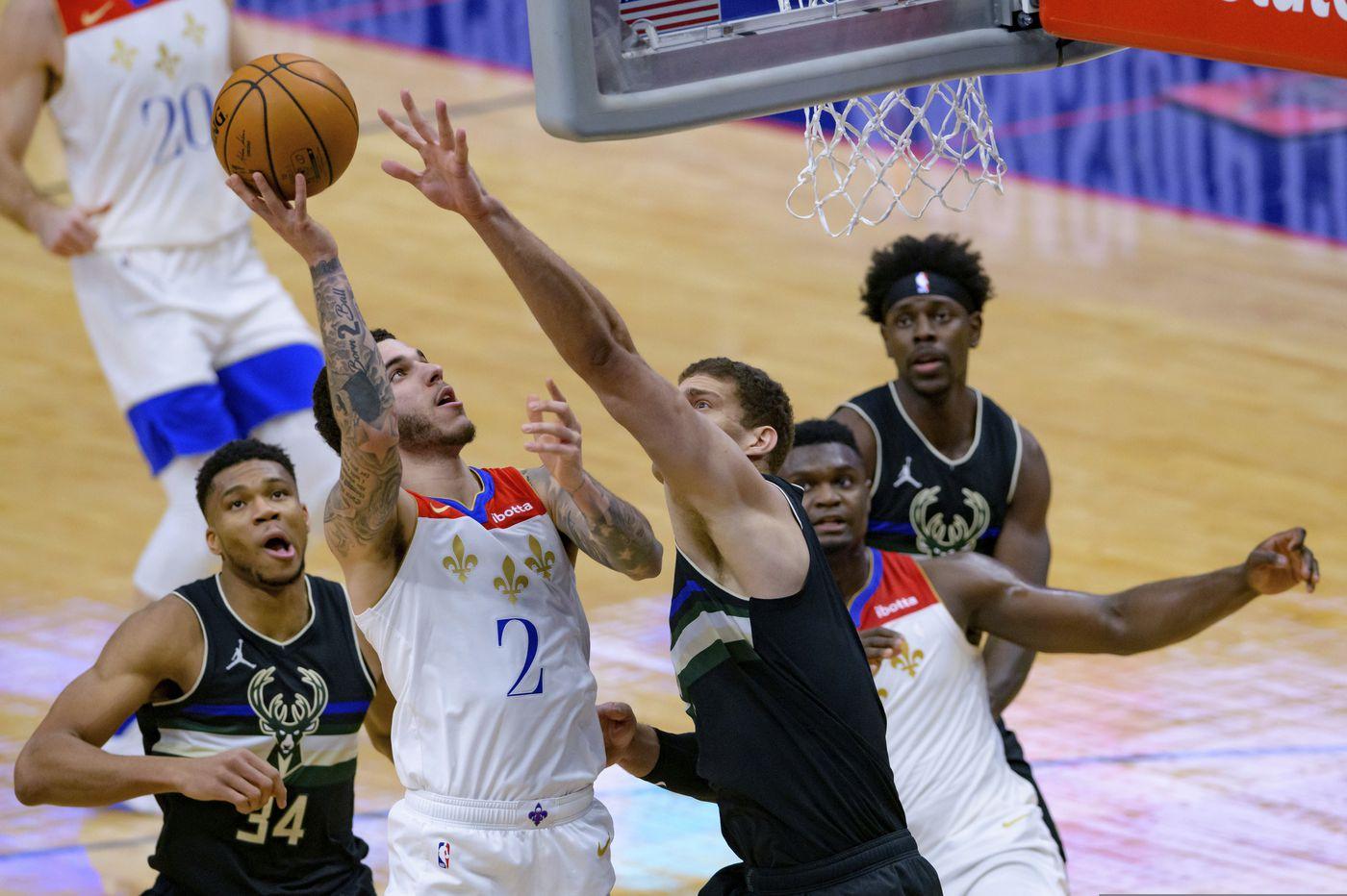 Ingram, Ball lead Pelicans past Bucks, 131-126