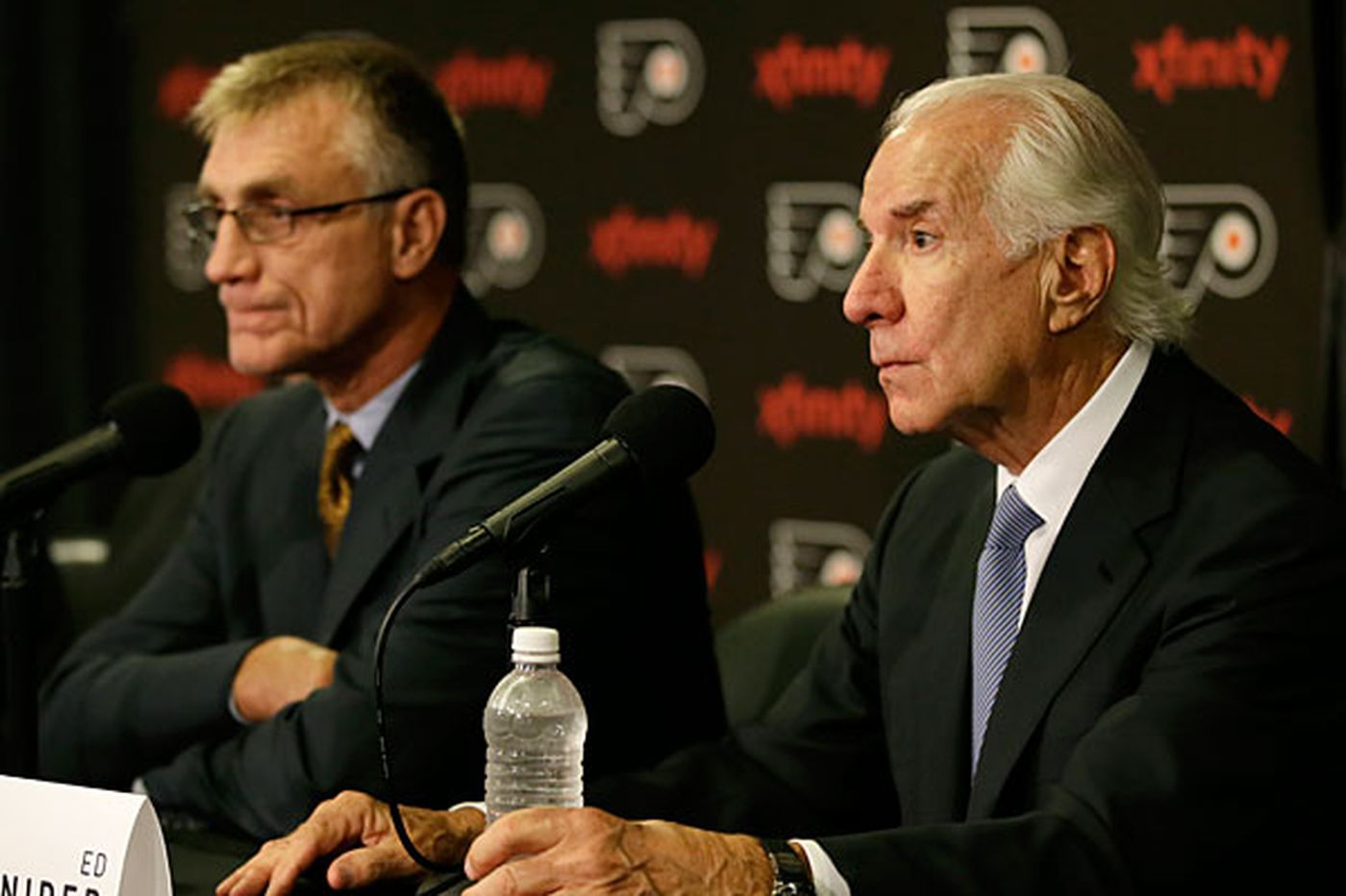 Mixed messages over changes in Flyers' front office?