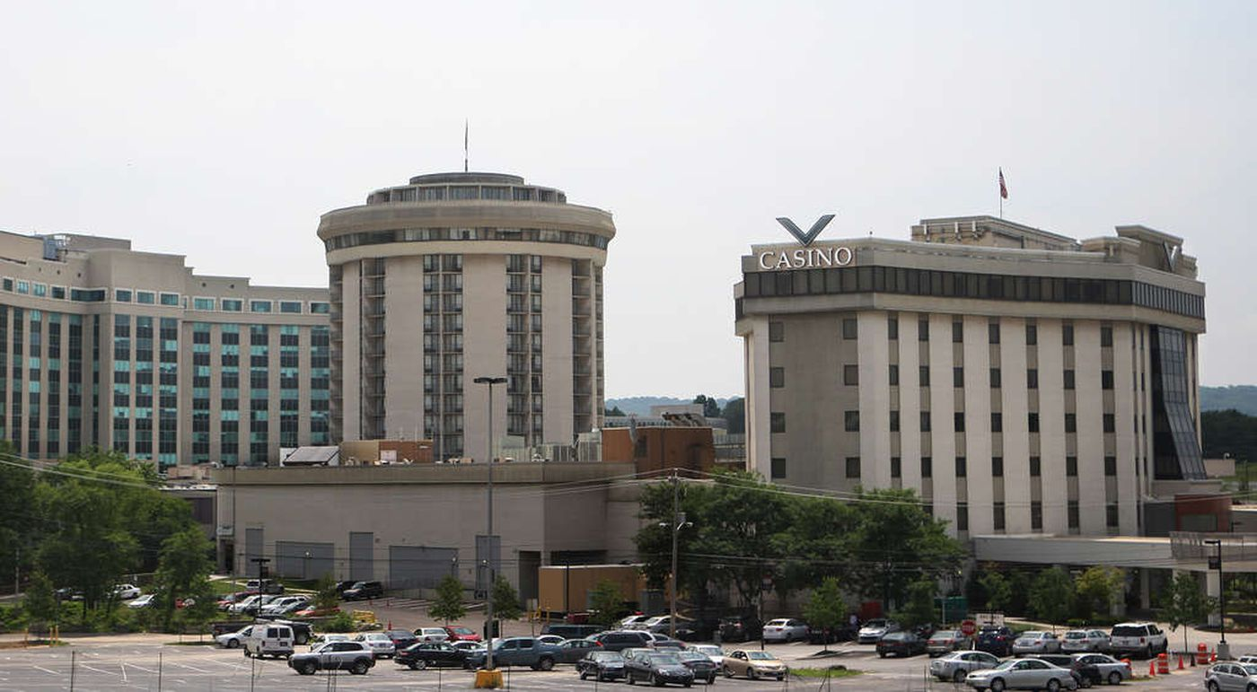 The Valley Forge Casino (right).