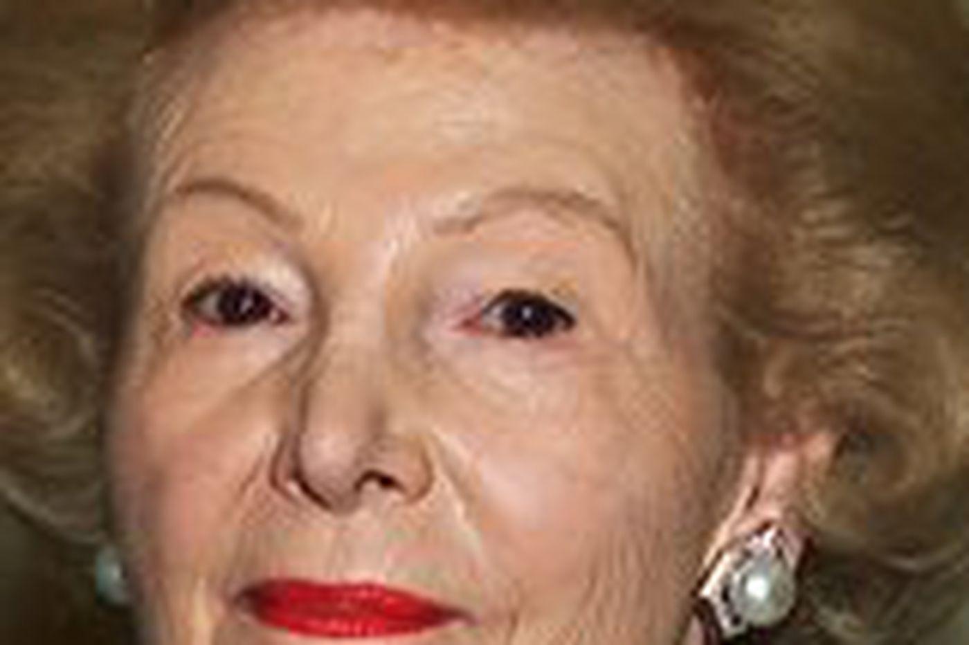 Leonore Annenberg chosen to receive Philadelphia Award