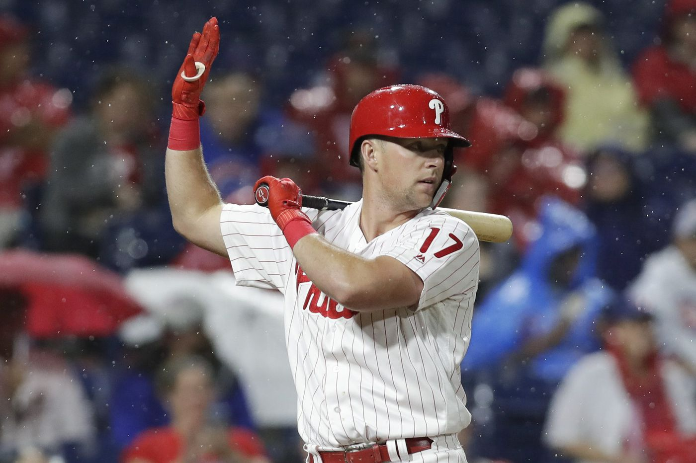 Rhys Hoskins searching for one more hot streak to put Phillies in the playoffs