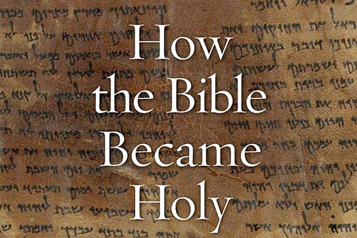 Picking and choosing among sacred texts to make the Bible