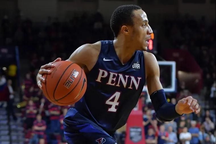 Penn's Darnell Foreman. (Photo by Drew Hallowell / Penn Athletics