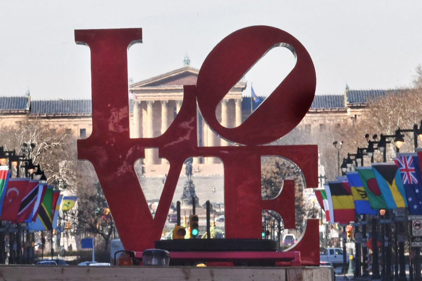 Photos: See the LOVE statue return to JFK Plaza after short tour around Philadelphia