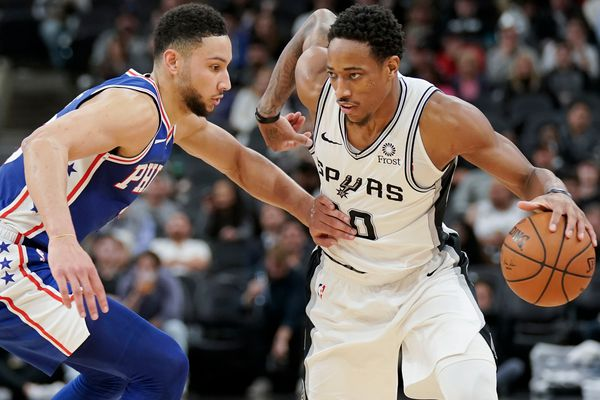 Sixers are no match for Spurs in 27-point loss in San Antonio