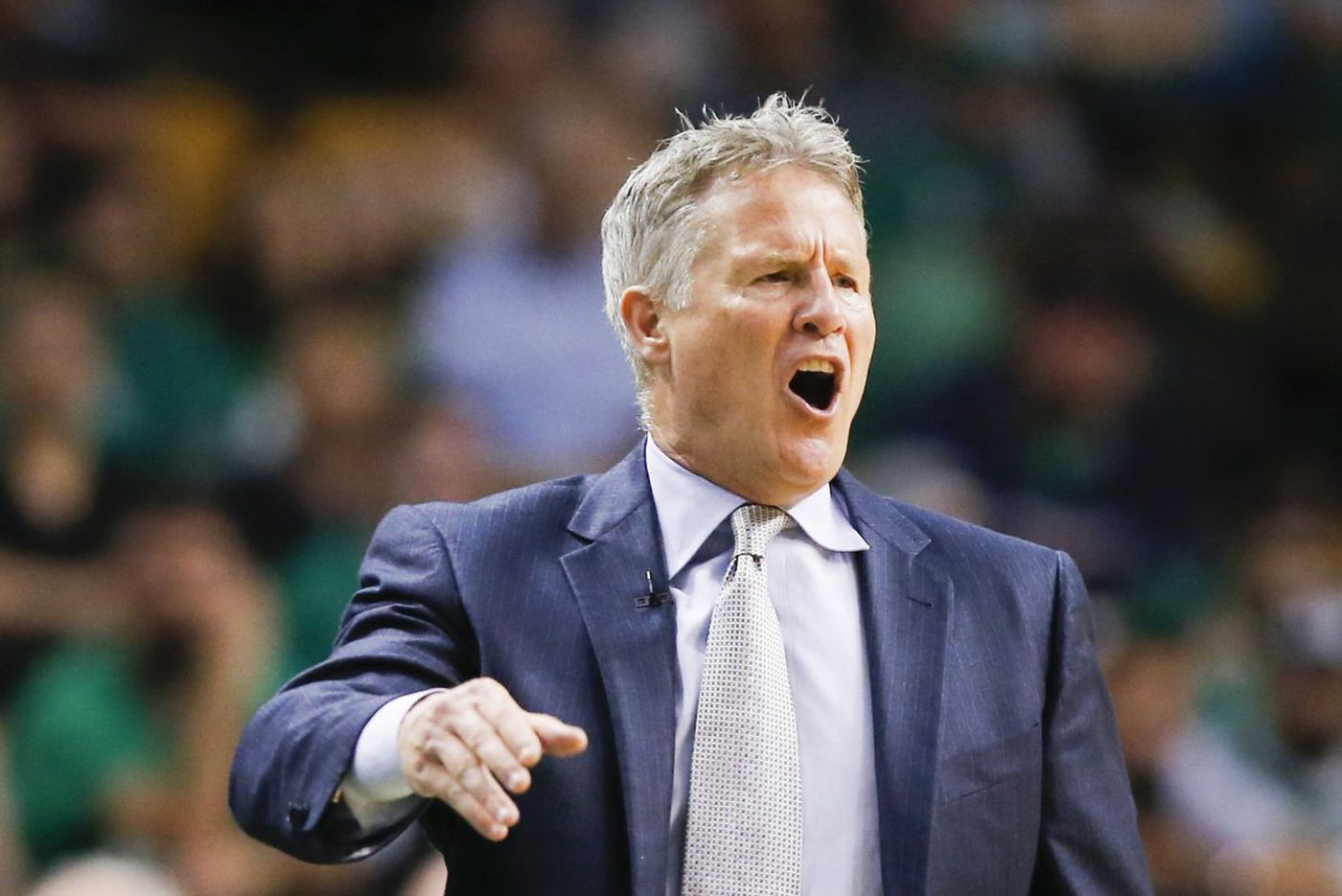 Given time to reflect, Sixers coach Brett Brown might have called time during Boston's second quarter run