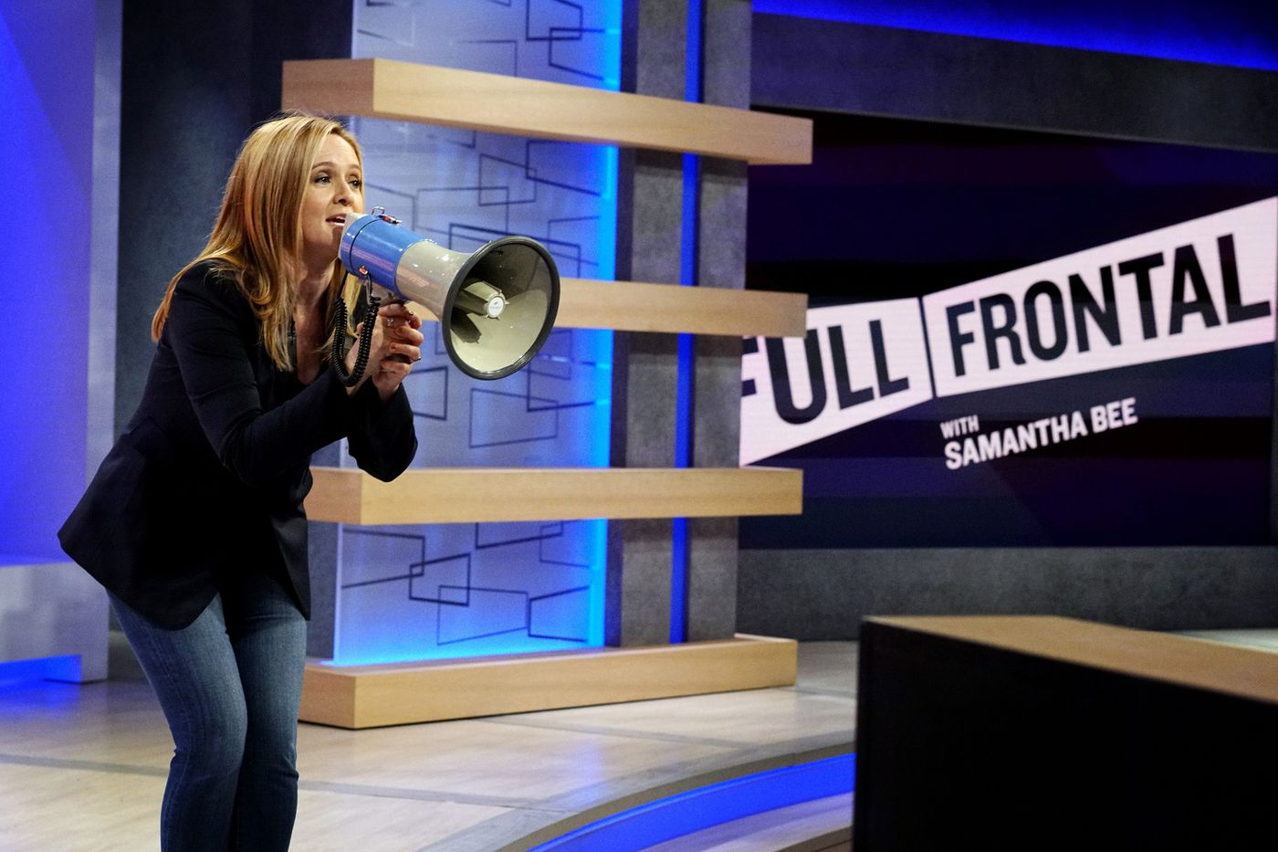 Samantha Bee came to Philly for a 'Full Frontal' interview with District Attorney Larry Krasner