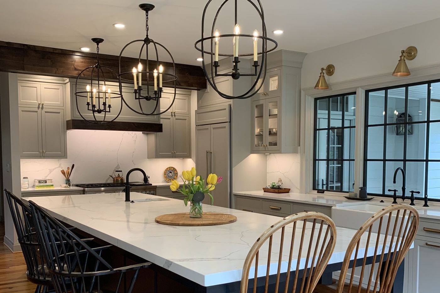 Kitchen islands create a hub for cooking, dining, entertaining and