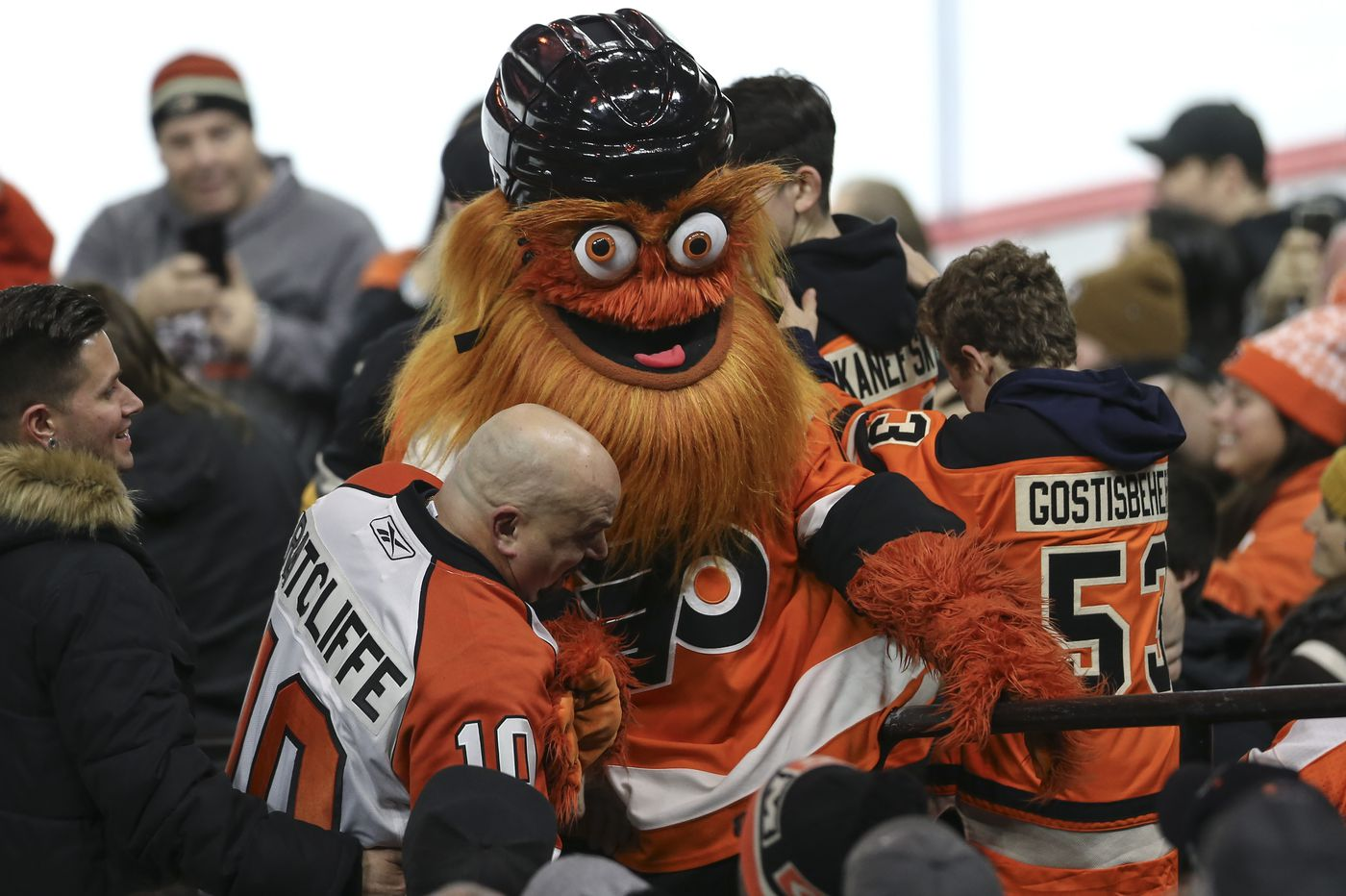 Watch: Gritty gets Netflix's 'Queer Eye' treatment