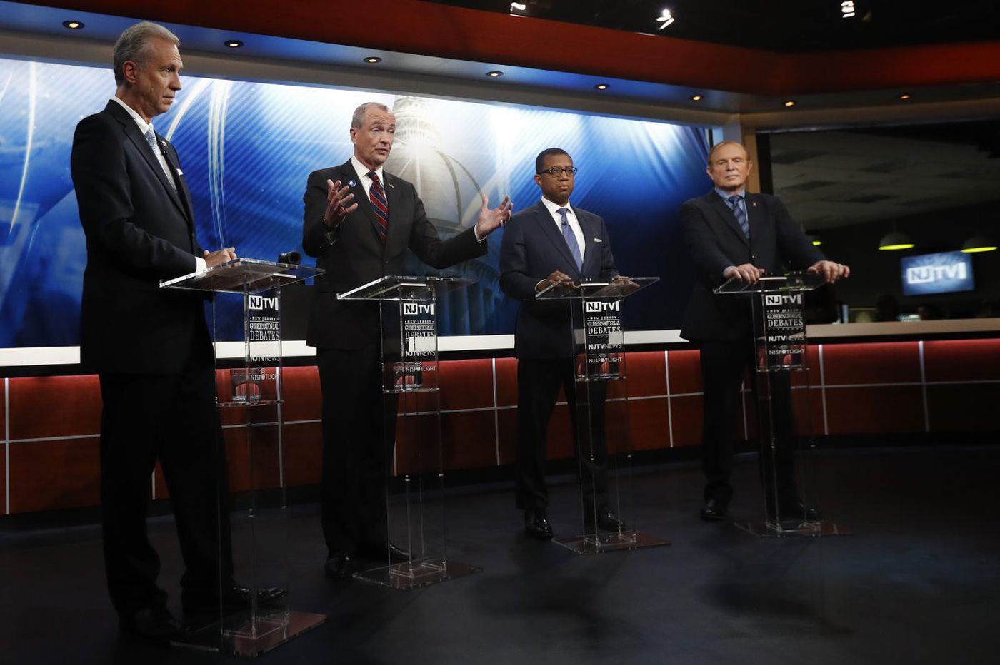 N.J. Dems lurch to the left in governor's race. Is there room for a centrist?