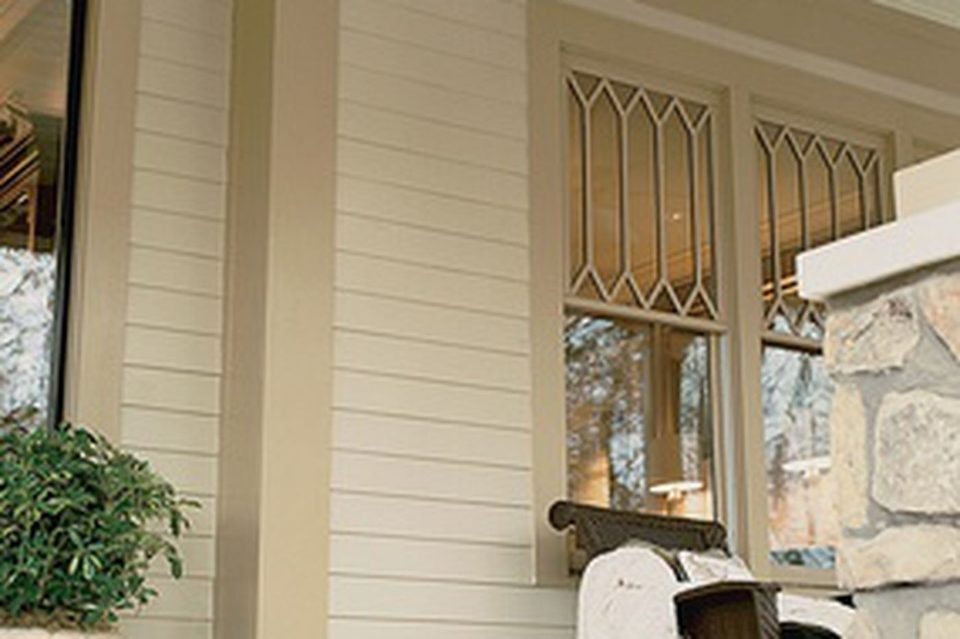 A straight-on look at siding