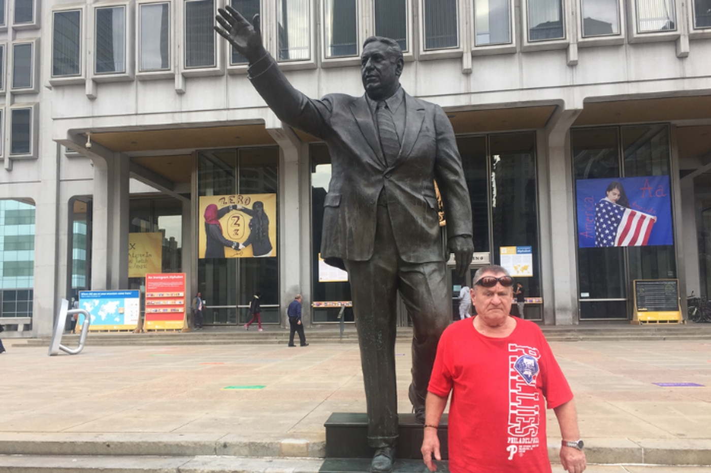 Rizzo statue's departure stirs old fears, new sorrows