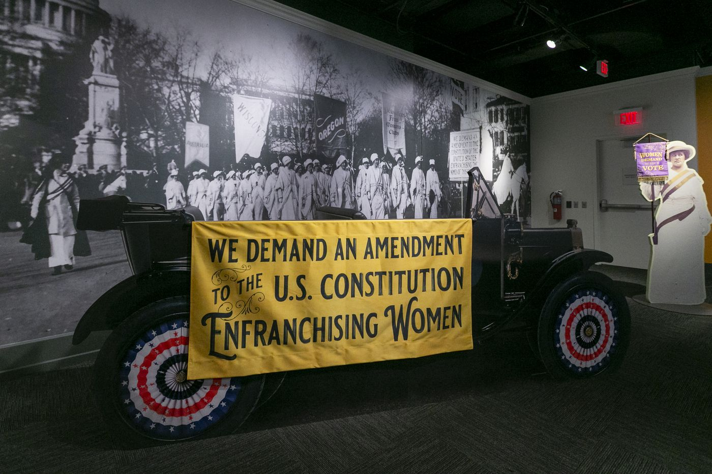 'You can't help but feel empowered': Philly exhibit shows the epic struggle for women's right to vote