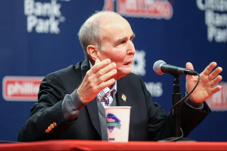 David Montgomery started working for the Philadelphia Phillies in 1971, selling season tickets after graduating from Penn.