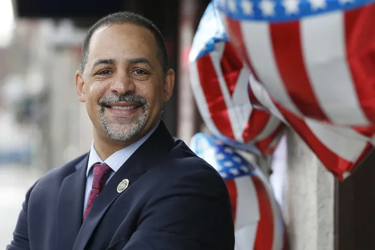 Philly Rep. Chris Rabb has seen good and bad in his first year in office. ( FILE PHOTO )