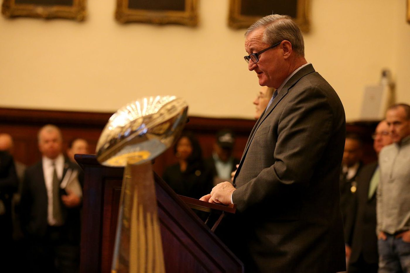 Mayor Kenney refuses to say how much taxpayers spent on Eagles parade | Clout