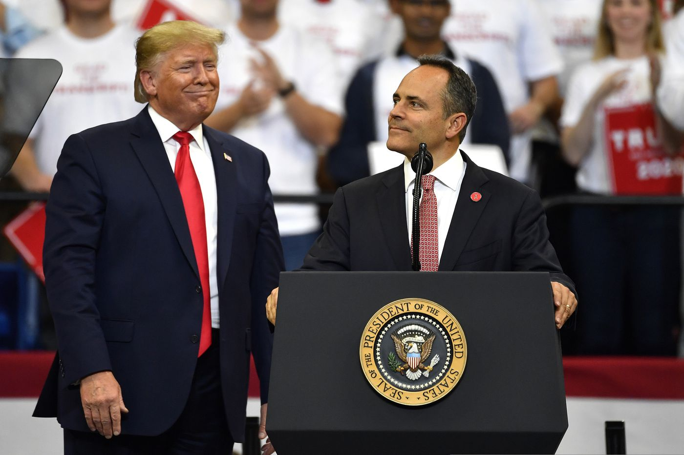Kentucky Republicans who turned against Gov. Bevin say they still support Trump
