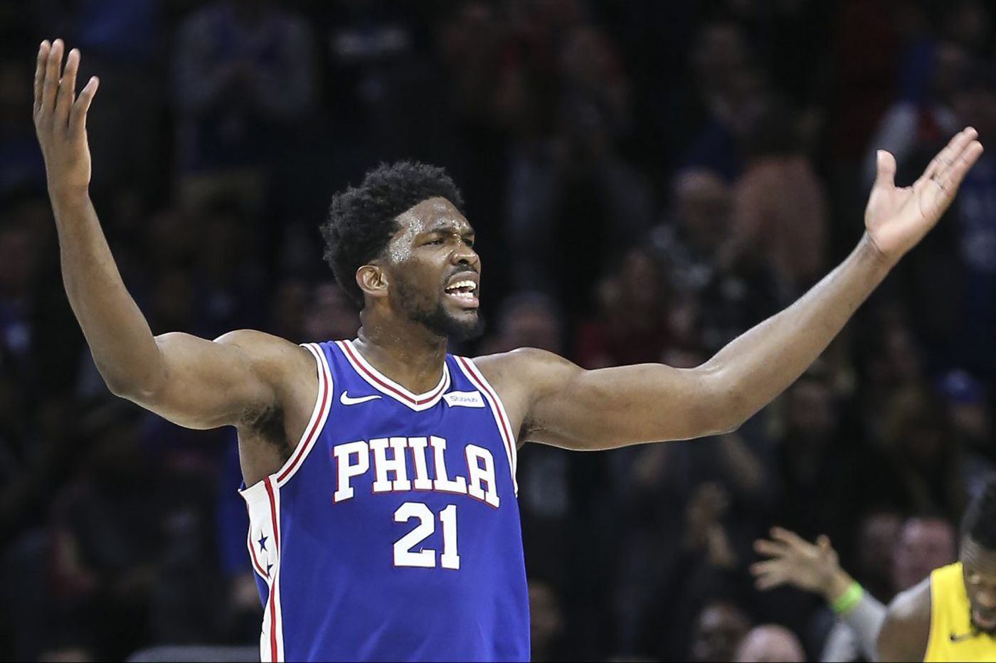 Joel Embiid questionable for Sixers-Thunder due to back tightness