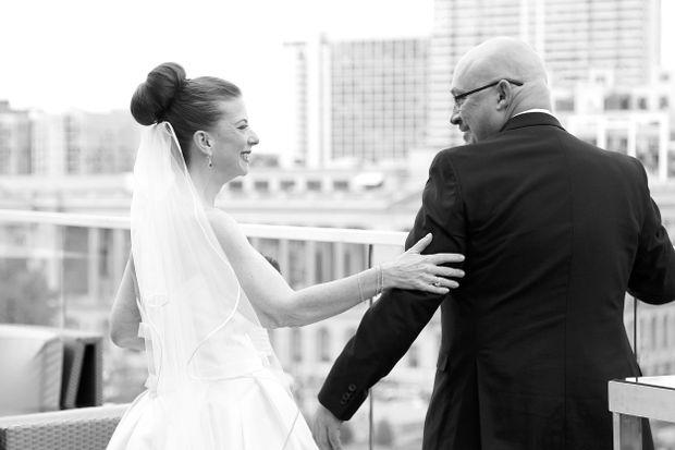 Philadelphia weddings: Christina Kaissi and John Wells
