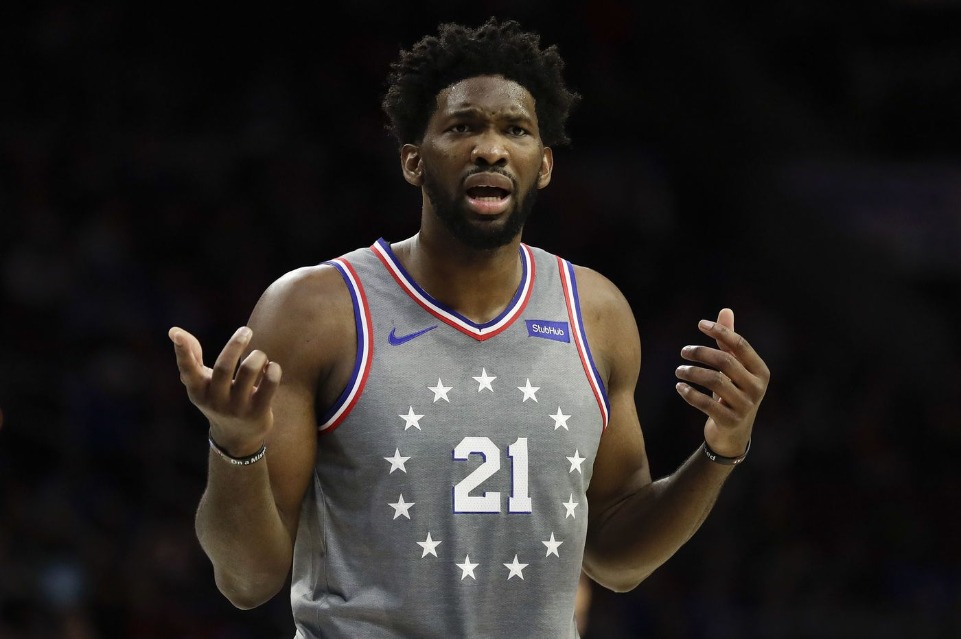 Sixers' Joel Embiid is excited to play with Jimmy Butler, but says he'll miss Dario Saric and Robert Covington