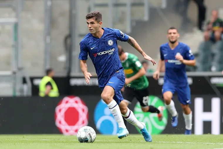 After playing in a few of Chelsea's preseason friendlies, Hershey native Christian Pulisic is set for his Premier League debut this weekend.