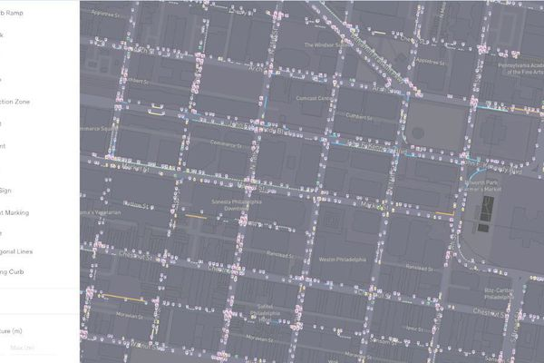 A tech startup mapped more than 100 miles of Philly's curbs. Could the data help ease traffic?