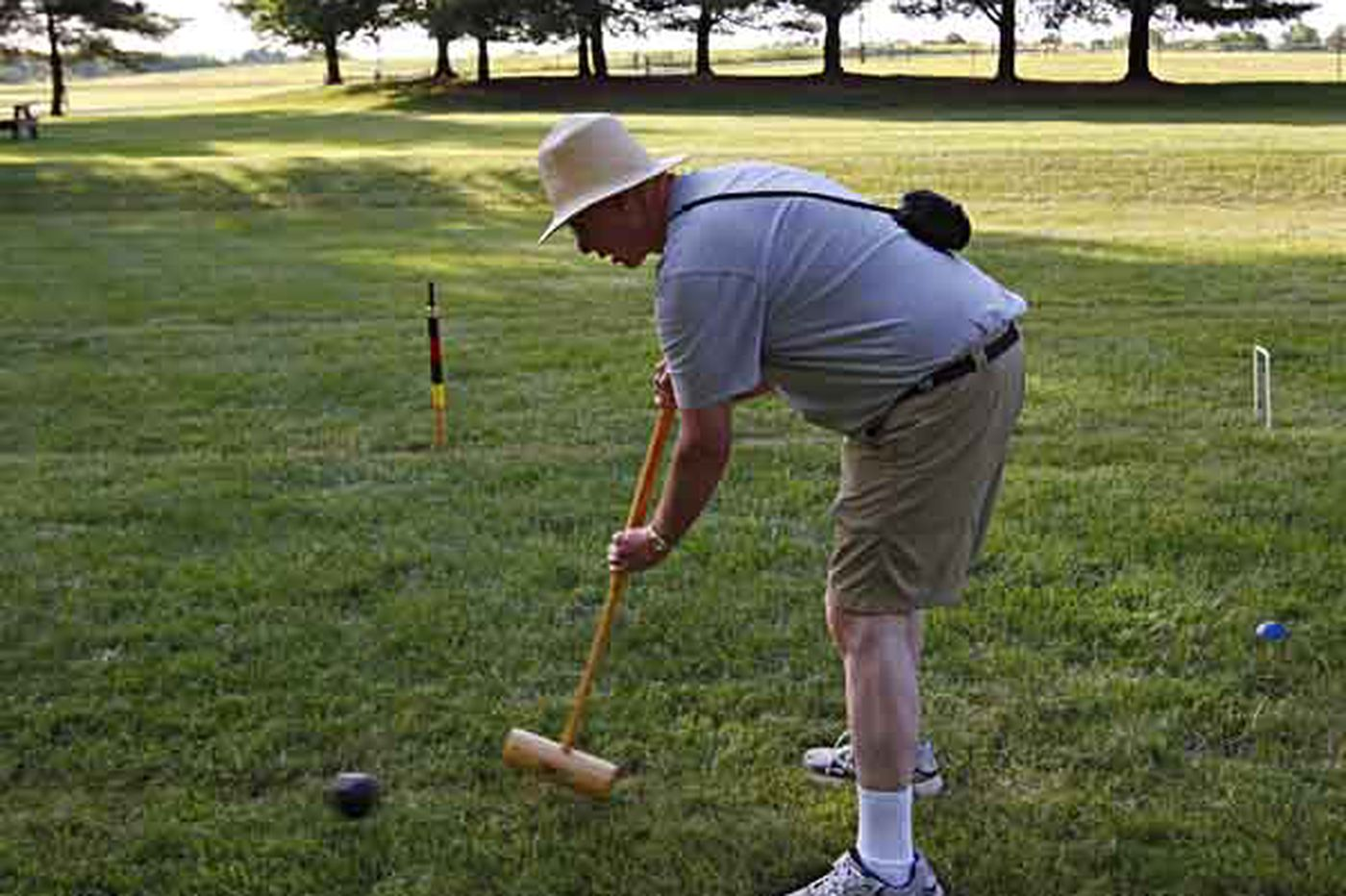 Kevin Riordan: Adults play a mean game of croquet in Smithville Park