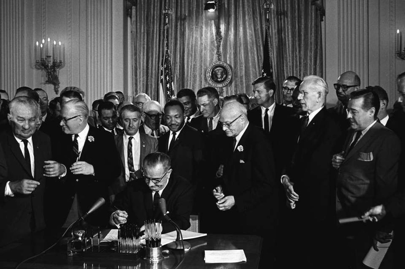 Civil rights battle fought on two fronts