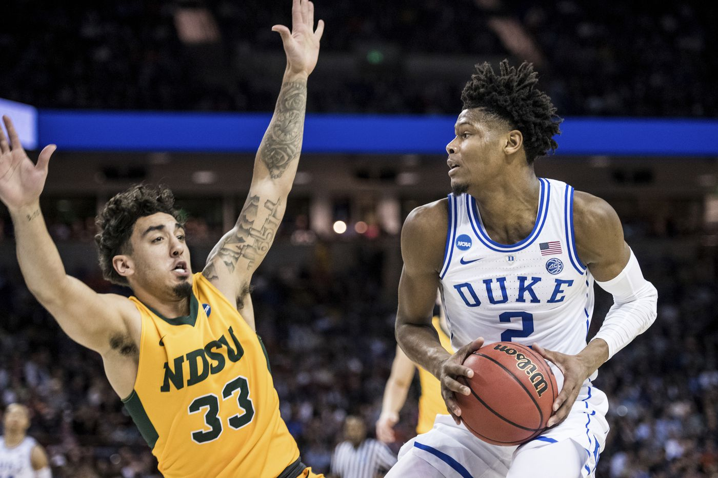 NBA Draft combine: Duke's Cam Reddish, a Norristown native, has a chip on his shoulder