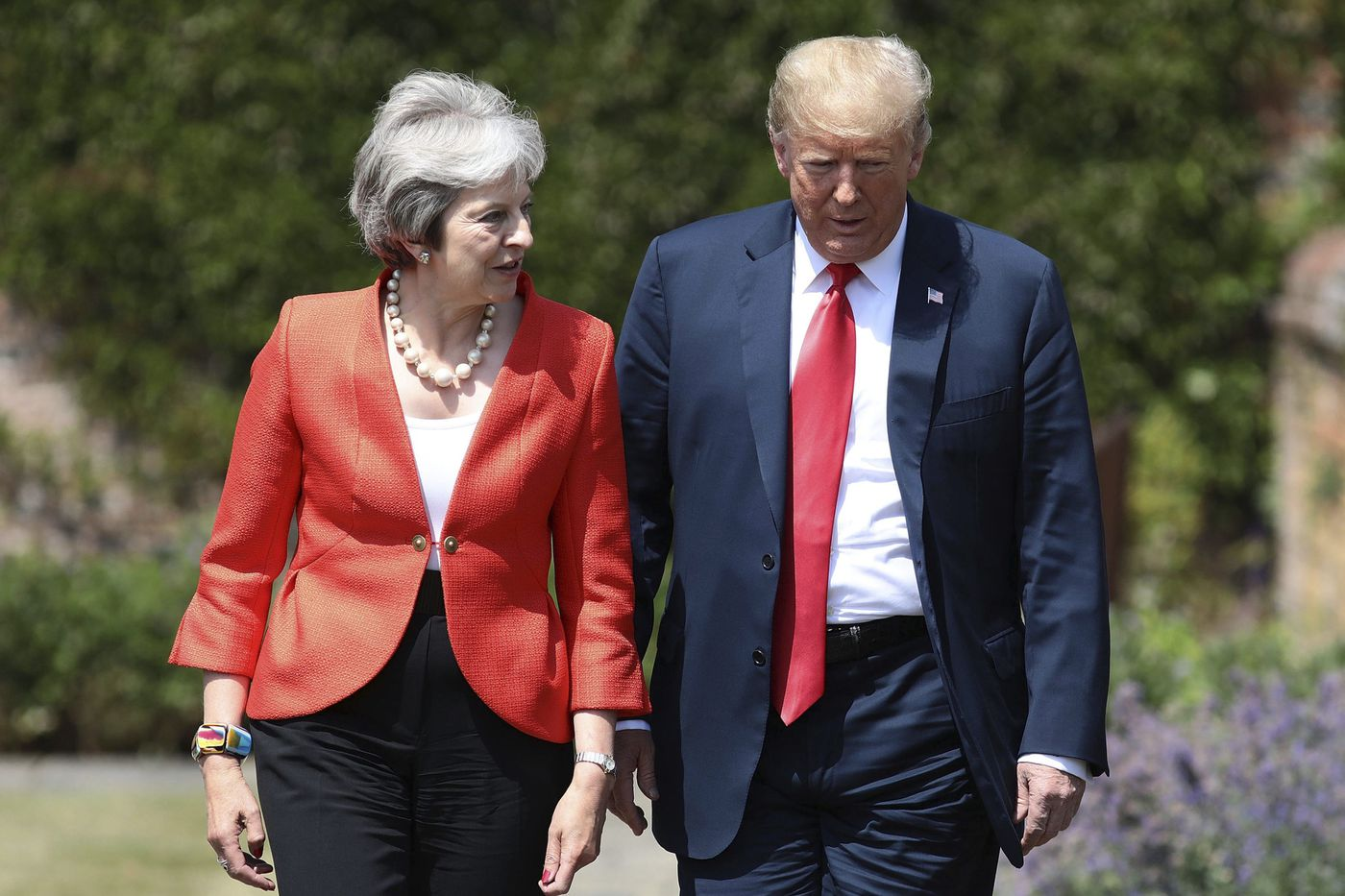 5 notable moments from Trump's first presidential visit to the UK