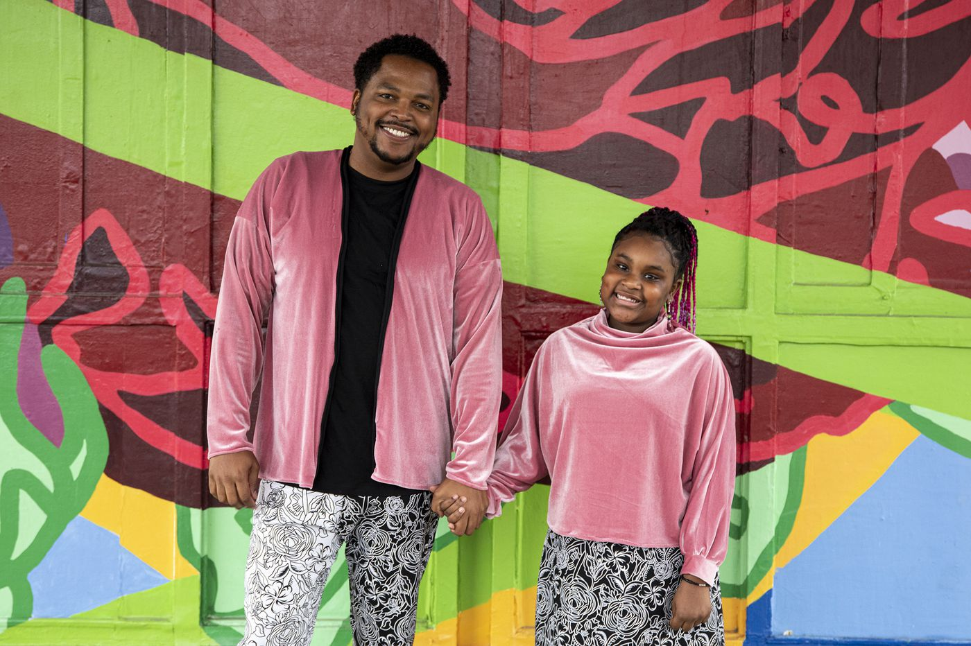 To bond with his daughter, this Philly dad taught himself how to sew. Now, he makes all her outfits (and some for himself, too). | We The People