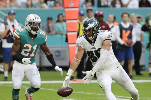 After a forgettable game against Miami, Zach Ertz is ready to 'step up' against Giants