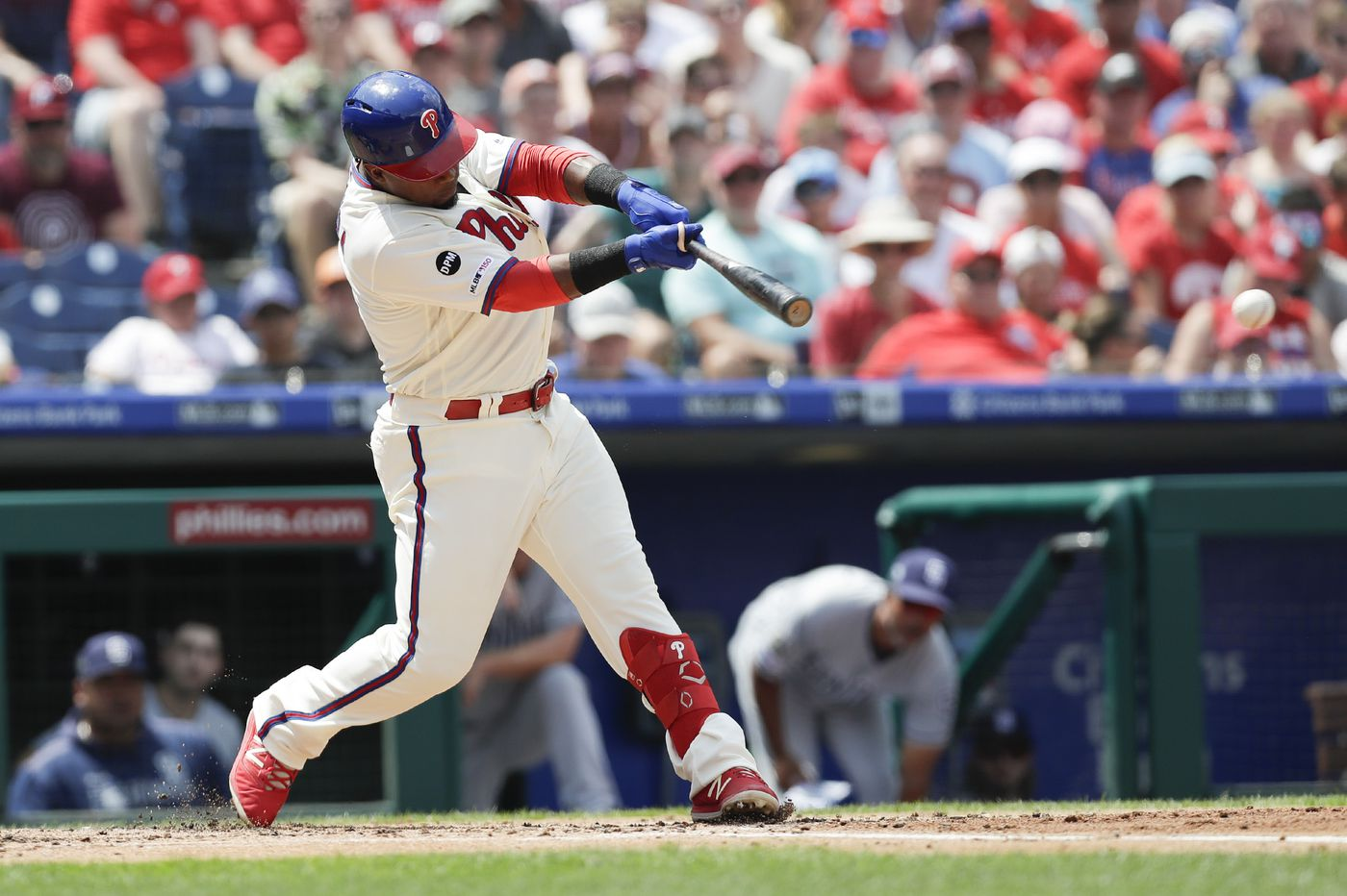 Phillies look sluggish in loss to Padres as Bryce Harper leaves dehydrated