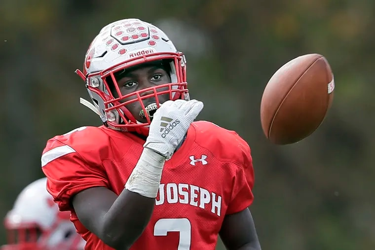 St. Joseph's Jada Byers on Saturday set the New Jersey record for touchdowns in a game with 10.