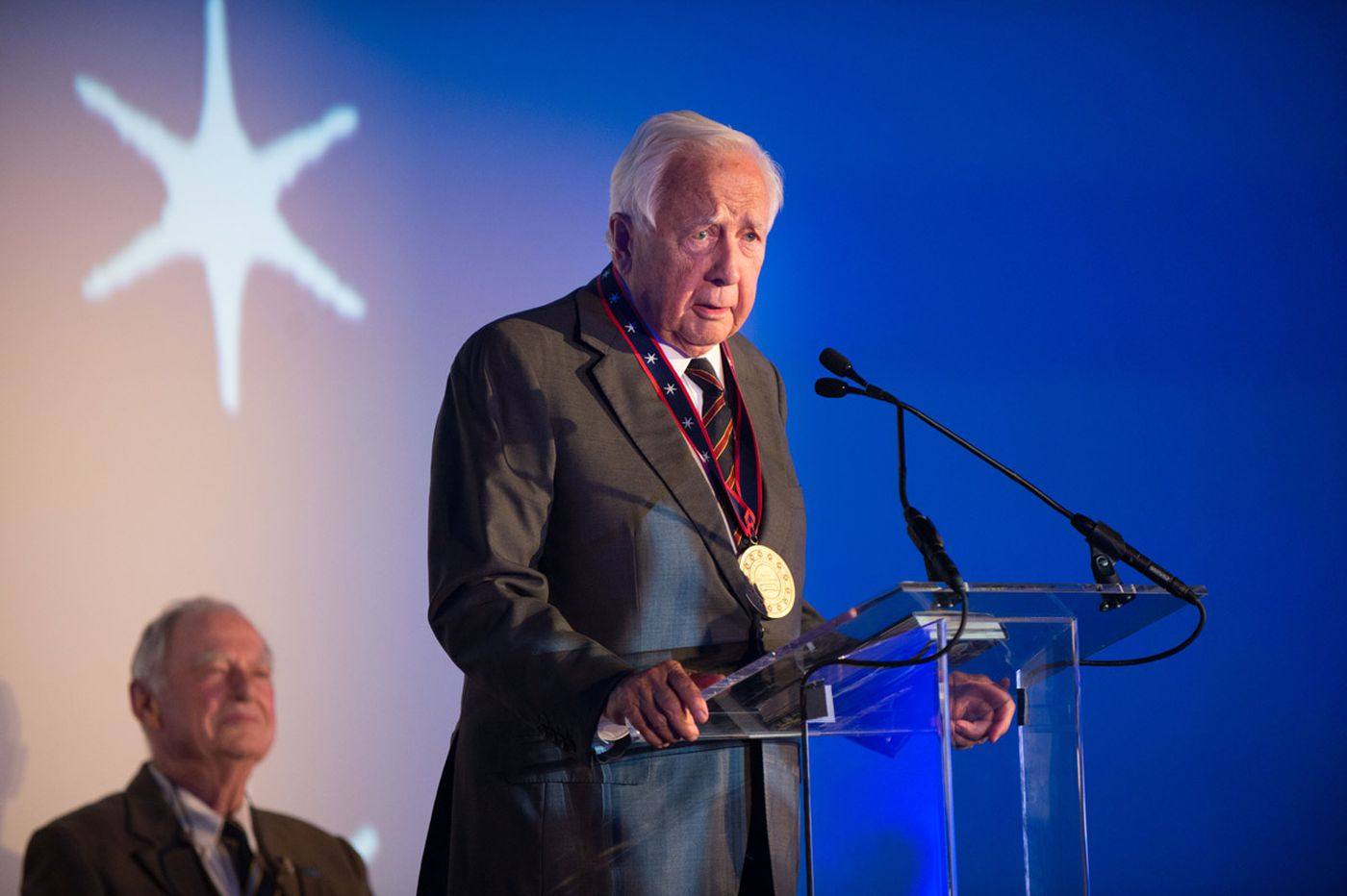 David McCullough receives inaugural Lenfest award
