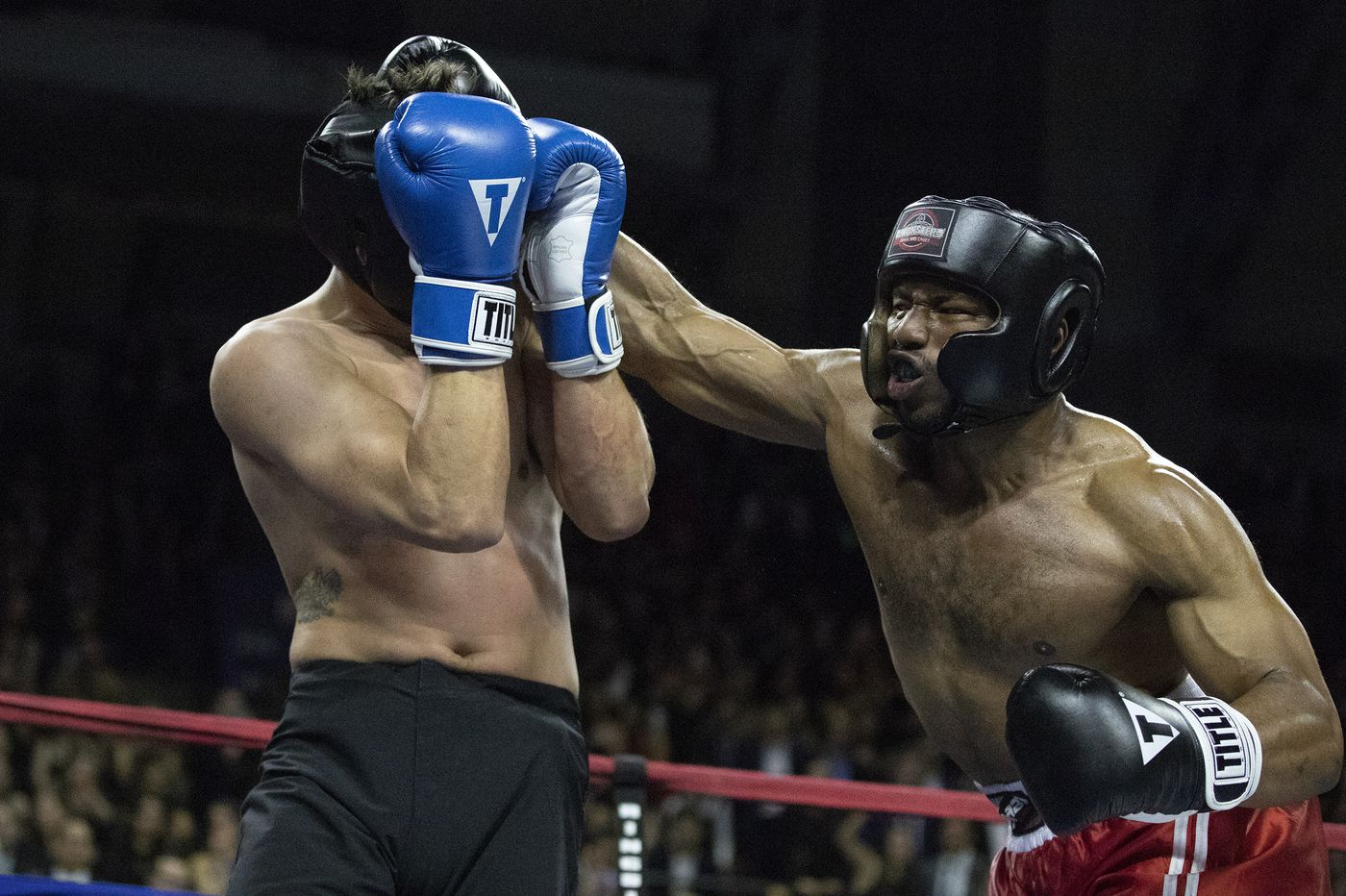 Penn Fight Night: Blood, sweat and cocktails mix for a good cause at the Palestra