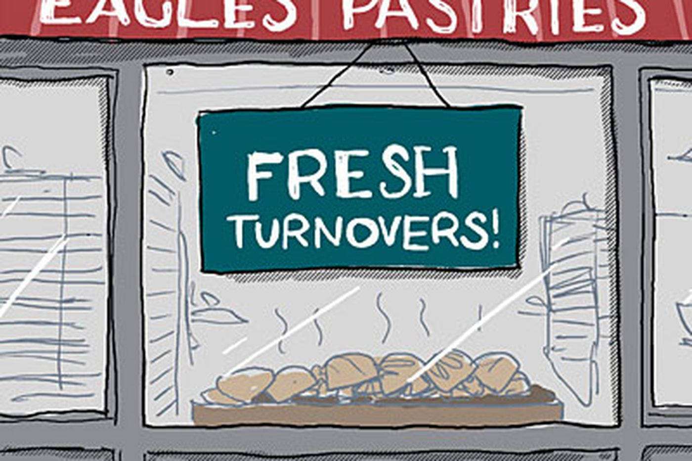 In honor of the Eagles: It's turnover time