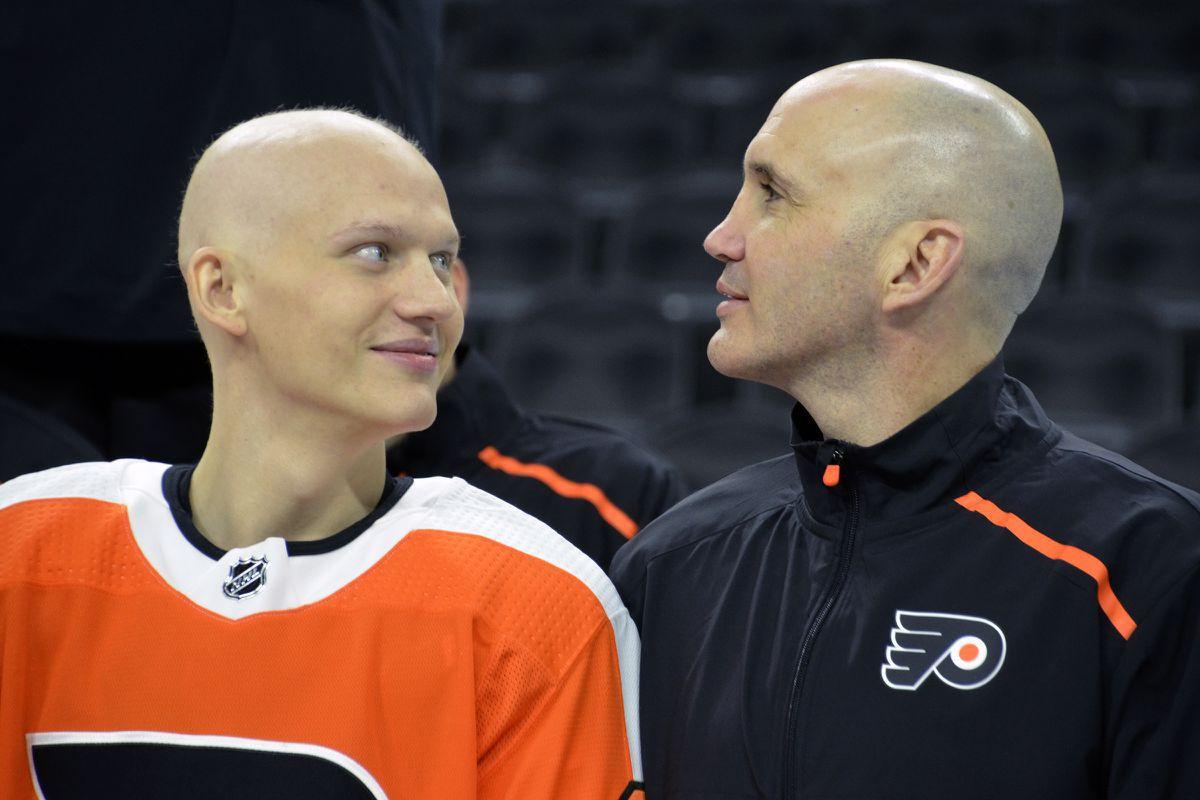 Flyers' Oskar Lindblom to undergo final cancer treatments, making progress; Nolan Patrick 'feeling better every day'