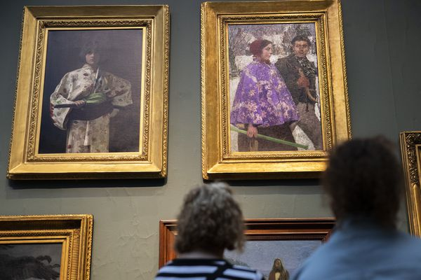 Painting looted by Nazis has a twin at PAFA — and another in Virginia