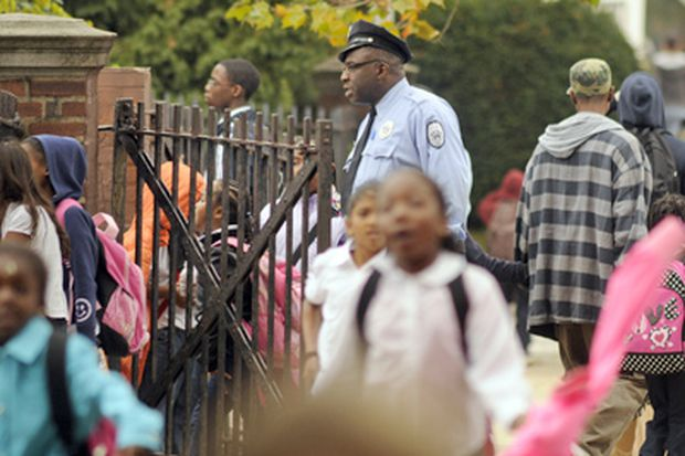 Who is policing the Phila. school police?