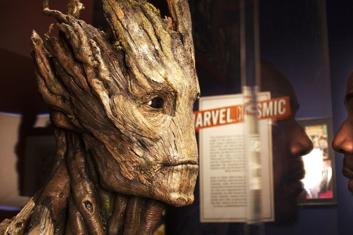 Groot is voiced by Vin Diesel.
