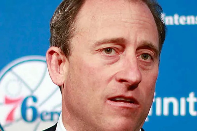 Sam Hinkie's profile and his background might endear him to half of the Sixers' fan base and doom him in the eyes of the rest. (David Swanson/Staff Photographer)