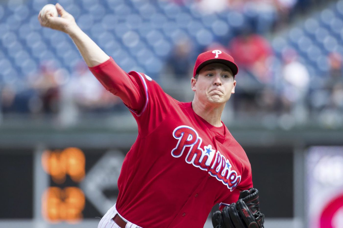 Phillies' Jerad Eickhoff, with time to think, looks forward to 2018